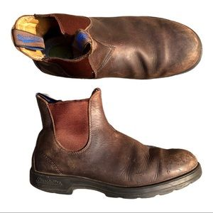Blundstone Men's Sz 10.5 US Brown Leather Boots
